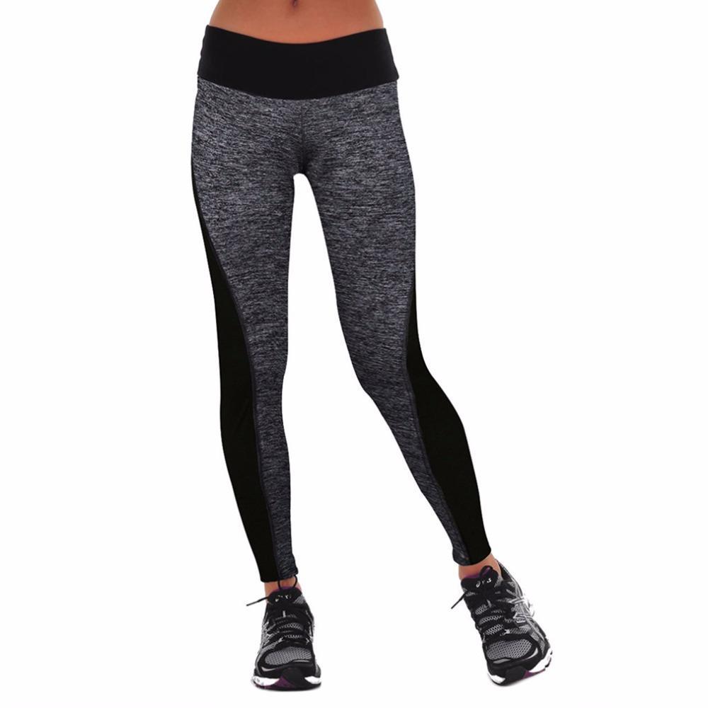Großhandel Trend Elastische Frauen Abnehmen Hosen Enge Leggings Mittlere  Taille Für Laufen Yoga Sport Gym Hosen Fitness Weibliche Kleidung Von  Marigolder, ... 213774fb0b
