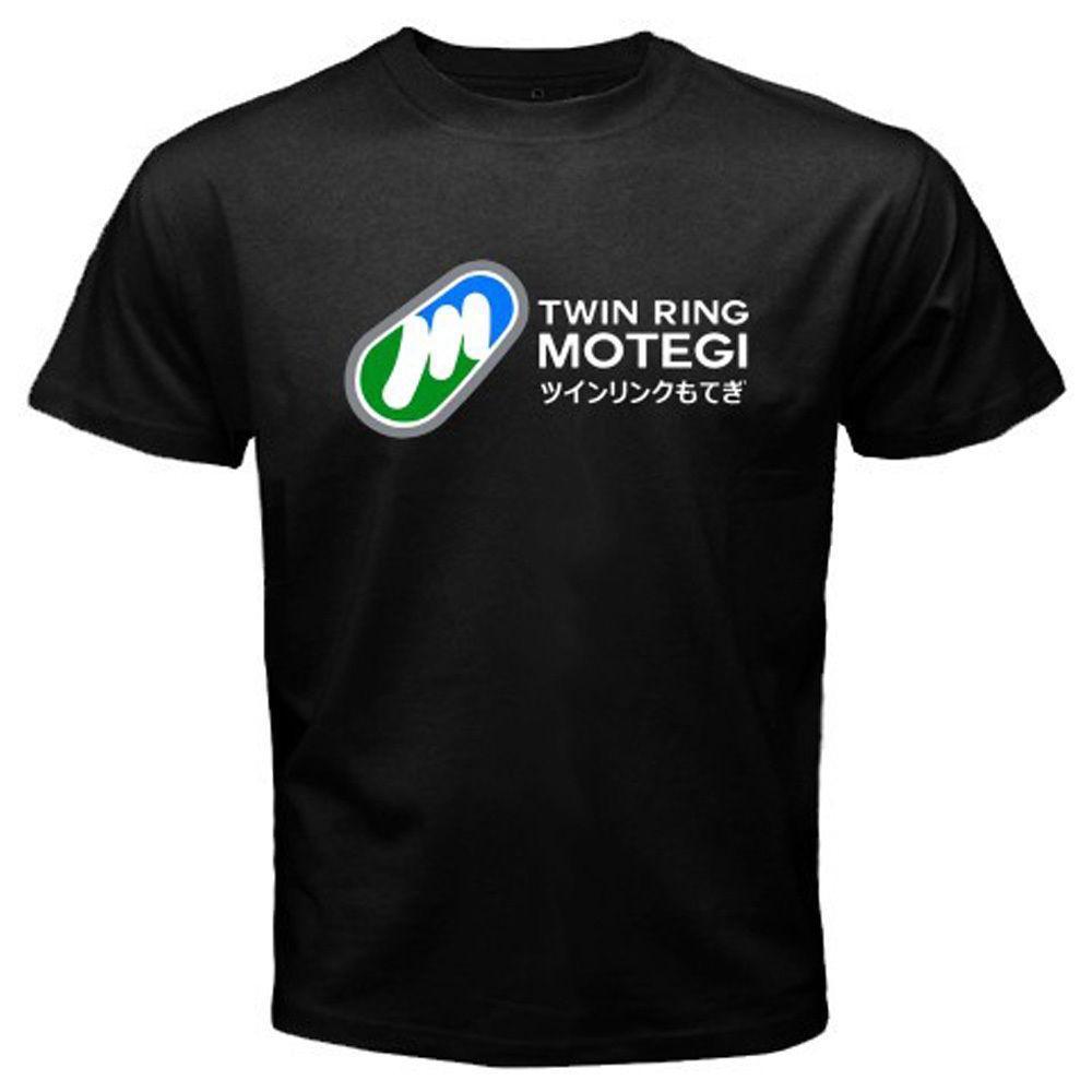 8ddf056c New Motegi Twin Ring Circuit Logo Moto GP Men'S Black T Shirt Size S To 3XL  Funky T Shirts Cool T Shirt From Amesion34, $12.08| DHgate.Com