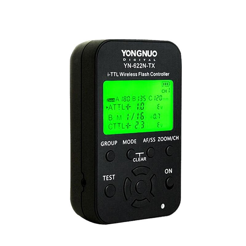 wholesale YN-622N-TX YN622N-TX Wireless TTL Flash Controller Transmitter with LCD Display working with HSS& Full Function