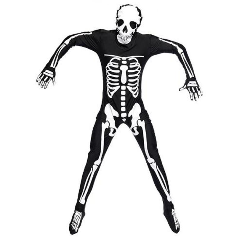 Adult Male Human Skeleton Skeleton Ghosts Costume Halloween Carnival Party  Costume Temptation High Quality Halloween Themes For Office Groups Adult  Themed ...