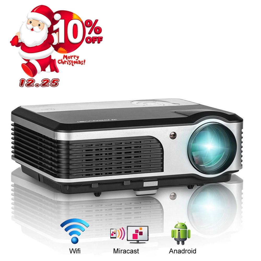 2018 Caiwei 3800 Lumens Home Theater Projector 1080p Full Hd Hdmi ...