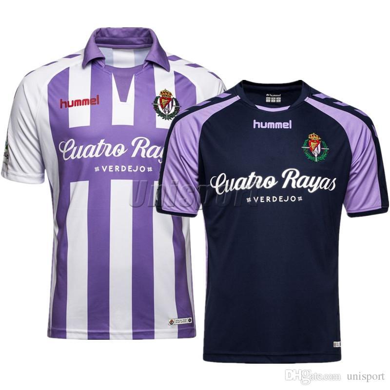 f0f482caf061f 2018 19 Real Valladolid Camisetas De Fútbol Verde Enes Ünal Nacho Futbol  Camisetas Fútbol Camisa Kit Maillot Por Unisport