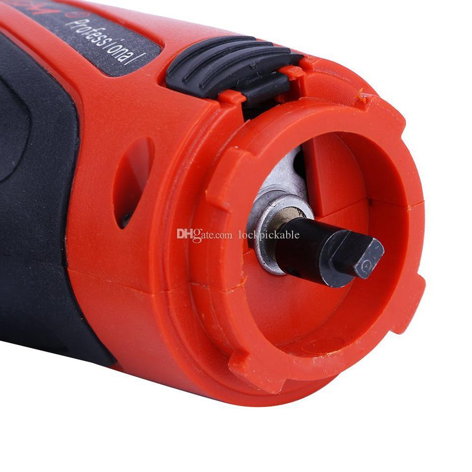 KLOM Electric Pick Gun PLUS مع حقيبة حمل + إبر - أفضل بندقية بيك قفل كهربائي للبيع