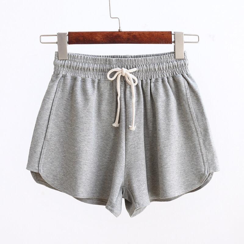 a83e19411 Compre 2018 Pantalones Cortos Deportivos Sueltos Ocasionales Verano GZ41 A   35.12 Del Boniee