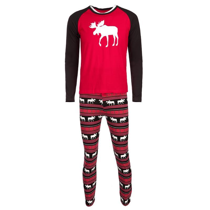 Christmas Family Clothing Outfit Family Reindeer Matching Set Mother/Kids/Father/Baby Clothes Family Xmas Suit