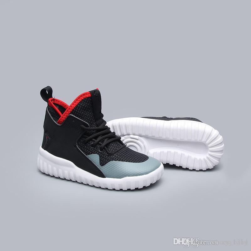 watch 3559a 6b2e5 High Baby shoes Tubular Defiant Tubular X Primeknit kids Training Shoes  Outdoor Running kids Shoes eur 28-35