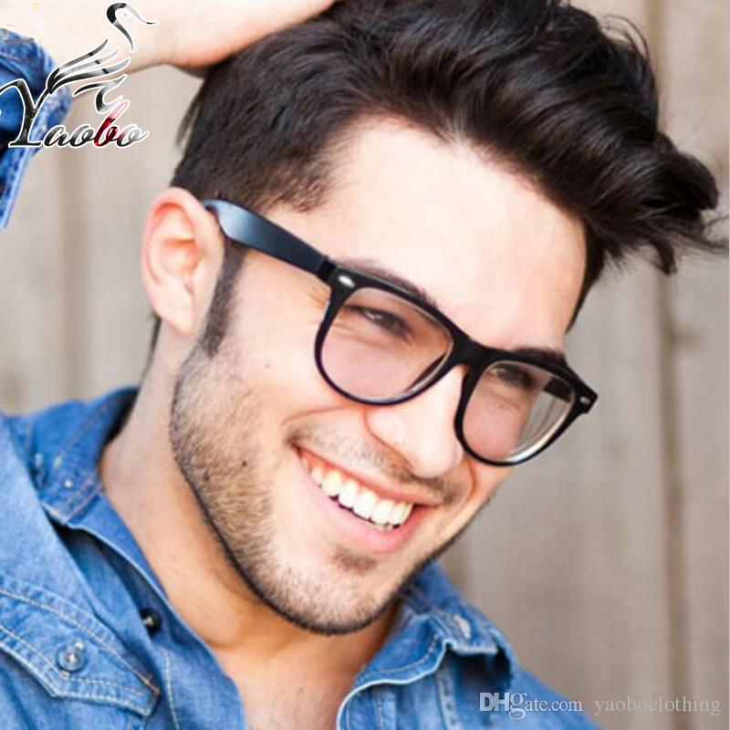 bf287821d4 Fashion Spectacle Frame Men Women Optical Glasses Frame With Clear ...