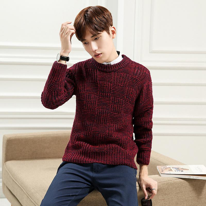 Kersttrui Man Xxl.2019 Korean Designs Mens Wool Sweaters Harmont Blaine Men S Pullover