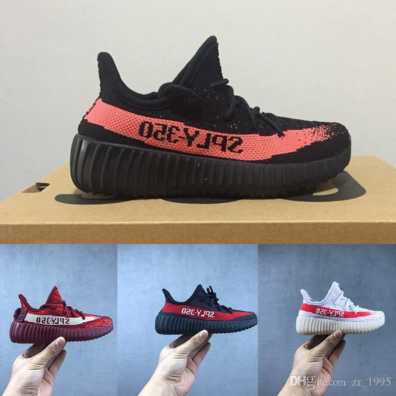 73e0afbf60b 2018 Best Baby Kids Run Shoes Kanye West SPLY 350 Running Shoes ...