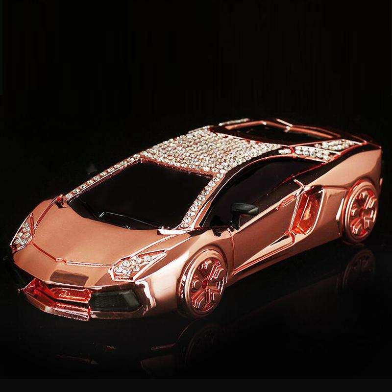 Luxury Car Interior Decoration Accessories Glitter Crystal Dashboard