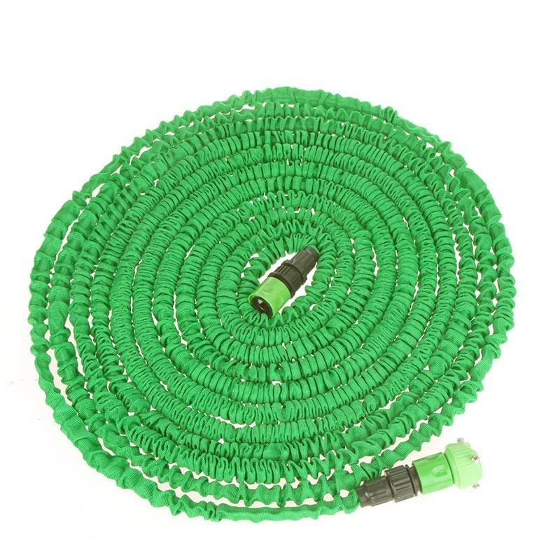H9872GR 100FT Ultralight Flexible 3X Expandable Garden Magic Water Hose Pipe + Faucet Connector + Fast Hadice Potrubi Manguera De Agua Pipa
