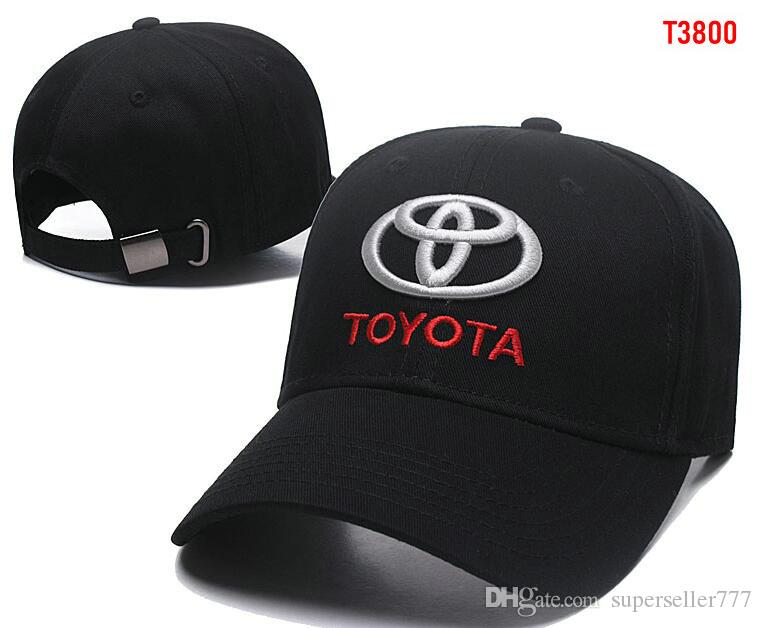 728a5c52a14 2019 2018 New Gorras Toyota Hat Cotton Embroidery F1 Racing Cotton Baseball  Adjustable Golf Cap Car Hats For Women Men Summer Bone Casquette From ...