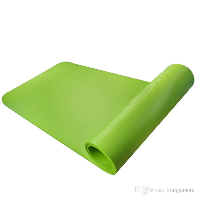 Soft Yoga Mat Thickening Non Slip Dance Motion Pad For Exercise Environmental Protection Fitness Play Mats 19 5yl Ww