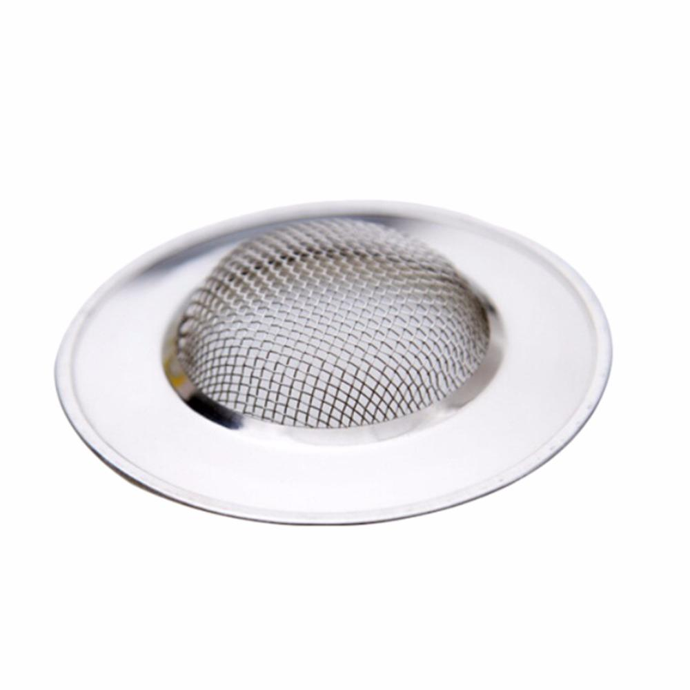 Nice 2018 Stainless Steel Sink Strainer Bathtub Hair Catcher Stopper Shower  Drain Hole Filter Trap Metal Bathroom Kitchen Tools From Easefit, $21.63 |  Dhgate.Com
