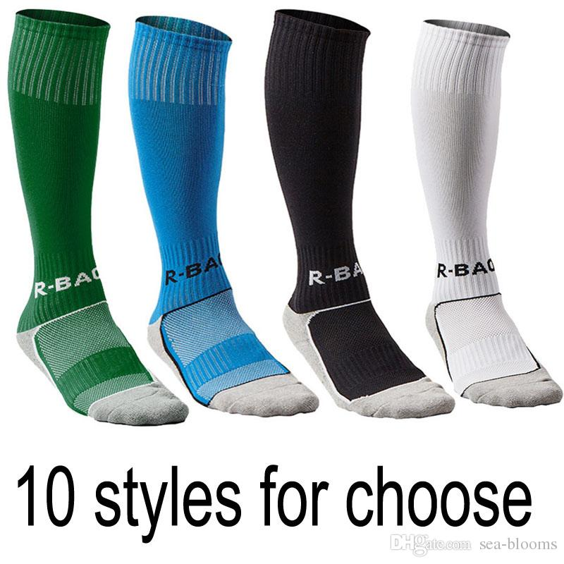 cheap for discount 9a3d8 0b765 2019 Boys   Girls Outfits Compression Long Sport Knee High Football   Soccer  Socks For Youth Gifts 10 Styles Support FBA Drop Shipping G496Q From Sea  Blooms ...