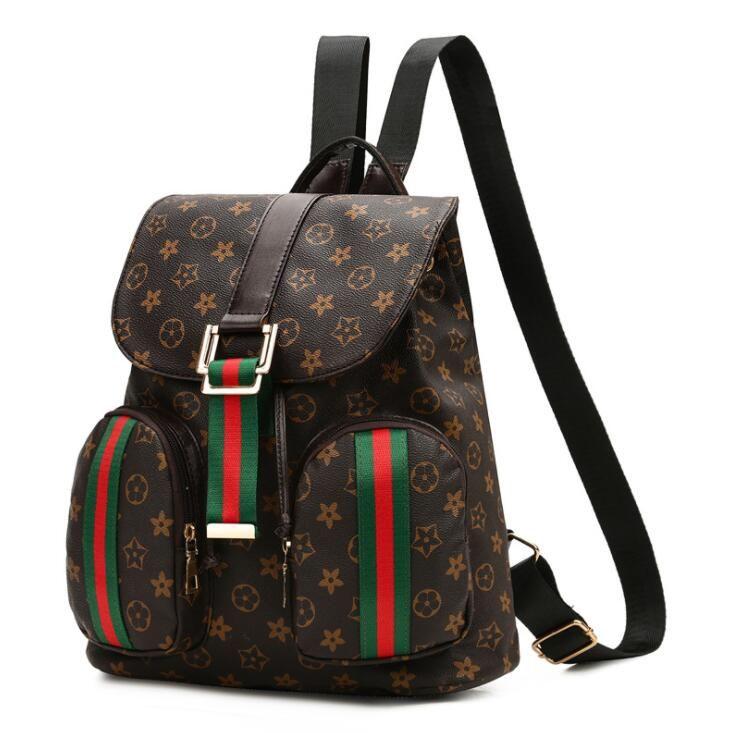 755f4fa034 Cowhide +High Quality PU 10 Inches Leisure Backpack Lady Bag Travel Bag  Small Big Capacity Handbag Woman Bag Backpack Style Fashion Bags Cute  Backpacks ...
