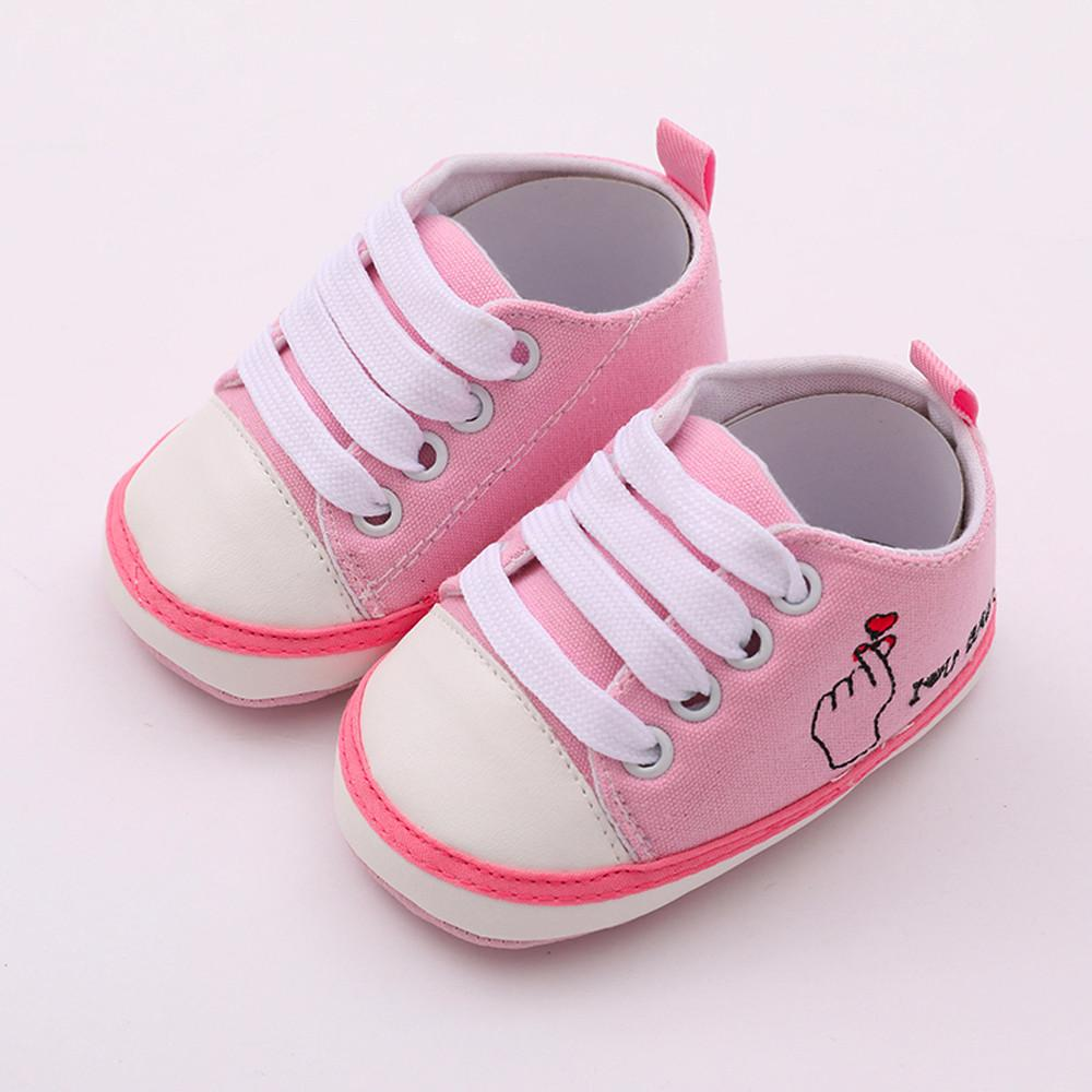 New Canvas Classic Sports Sneakers Newborn Baby Boys Girls First Walkers  Shoes Infant Toddler Soft Sole Anti Slip Baby Shoes UK 2019 From Orchidor 0dfa62b471cf