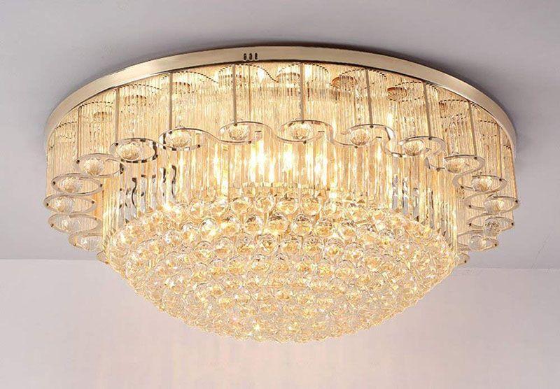 Led Lampe Kristall Kronleuchter Deckenlampe Pendelleuchte Lüster Hängeleuchte ~ Großhandel wohnzimmer deckenleuchteteal kronleuchter