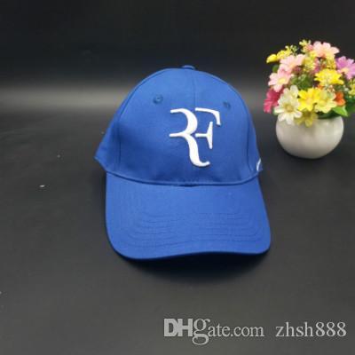 66c8d410694 2018 Limited Edition Newest Men Baseball Caps RF Tennis Fans Caps Cool  Summer Baseball Snapback Cap Trucker Tennis Sport Golf Caps For Hat Compton  Cap ...