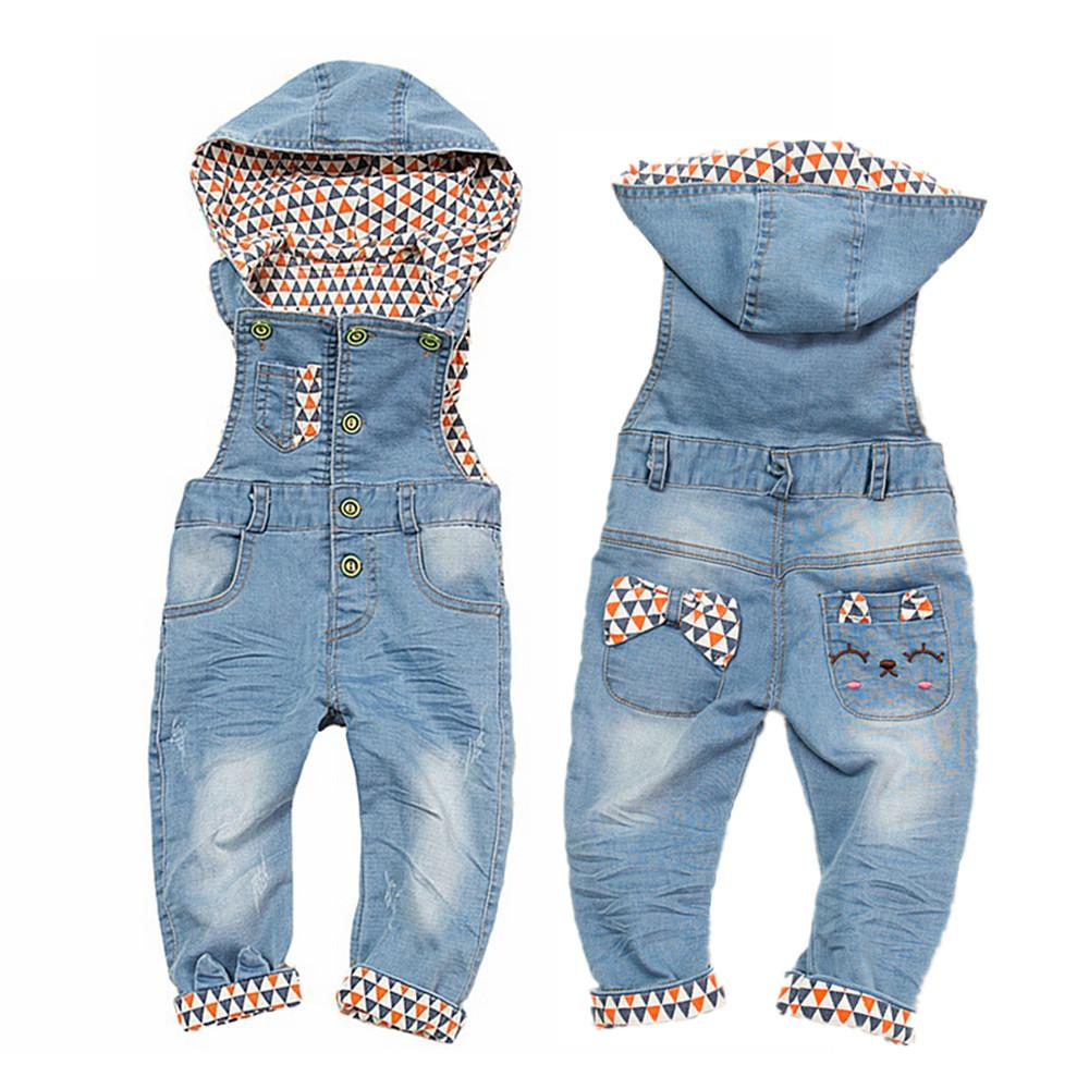 3b782702361 2019 Baby Girls Rompers Spring Infant Jeans Denim Overalls Bebe Girl  Jumpsuits Toddler Cowboy Clothes Kids Cute Suspender Clothing Y18102008 From  Gou08