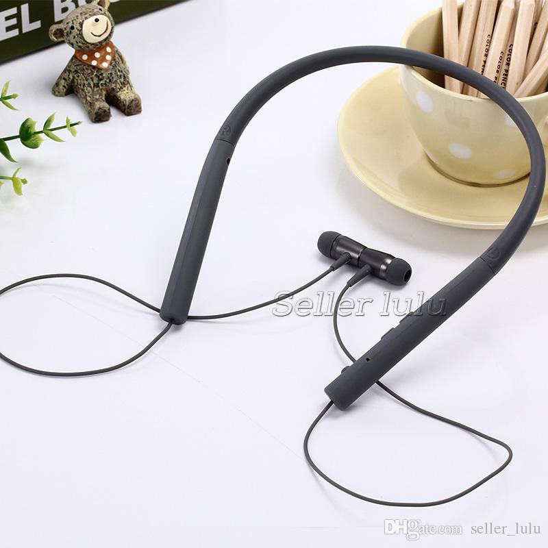 MDR-EX750BT bluetooth 4.1 fone de Ouvido Estéreo Sem Fio Esporte fone de ouvido Com MICROFONE Forte Bass Voz Clara Para Iphone x Samsung