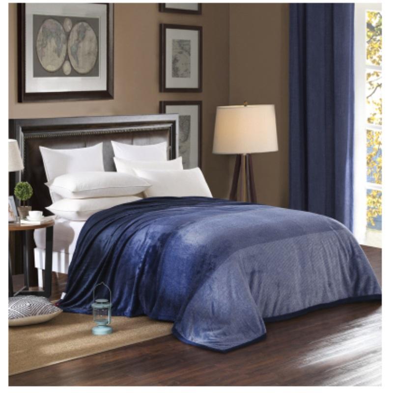 Hot Winter Weighted Gradient Fleece Blanket Throw Manta On Sofa/Bed ...