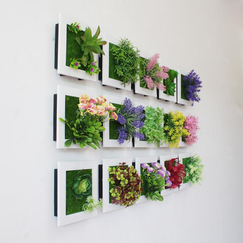 2018 wholesale creative 3d artificial plants home wall sticker 2018 wholesale creative 3d artificial plants home wall sticker decorations resin flower living room store ornament accessories from aozhouqie mightylinksfo