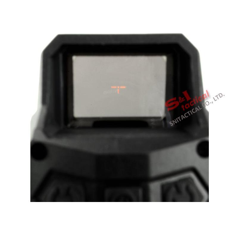 Taktik Hartman MH1 Red Dot Sight Refleks Büyük Alan Kapsamı Hızlı Ayır ve USB Şarj ile Avcılık Hava yumuşak Siyah