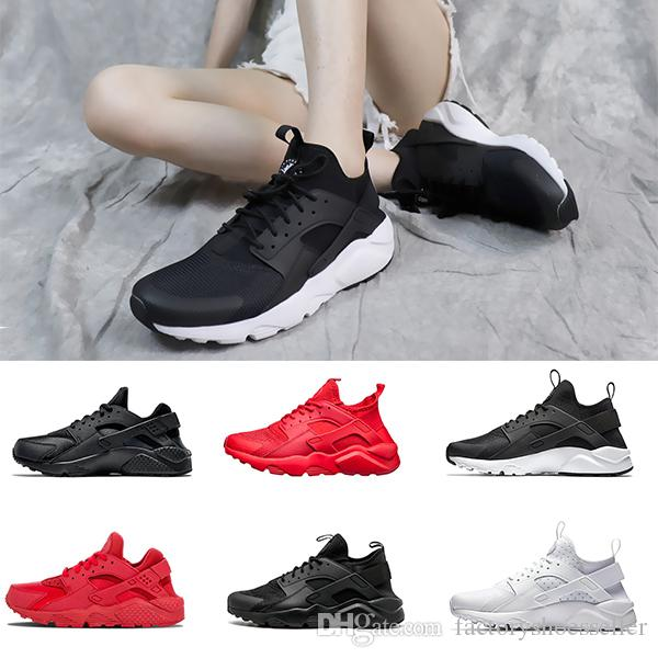 b1b989a9eba49 2018 New Air Huarache 3 III Ultra Casual Shoes Huraches Trainers For Men    Women Outdoors Shoes Huaraches Sneakers Hurache Discount Shoes Mens Loafers  From ...