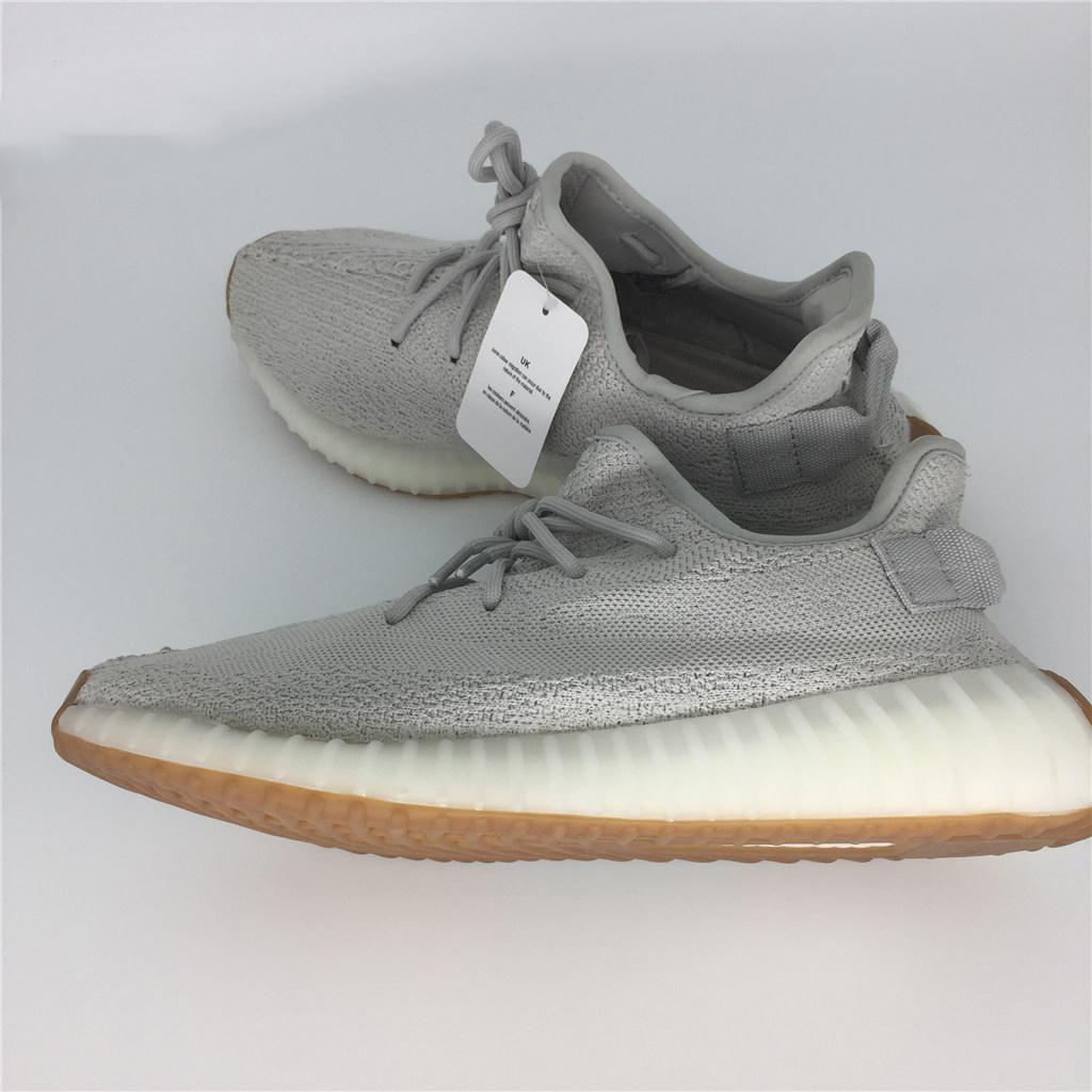 arrives 9bd7d dceea Kanye West Sply 350 V2 Mantequilla Hielo Amarillo F36980 Sesame F99710 Azul  Crema Tono Zebra Blanco V2 350 Zapatillas Zapatos Para Mujer Zapatillas De  ...