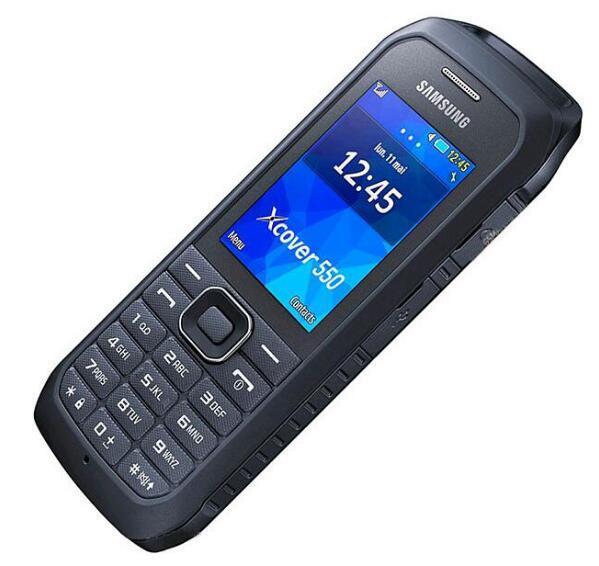 Восстановленное Оригинал Samsung B550H разблокирована сотовый телефон Dual Core с 2,4 дюйма, 2-мегапиксельной камерой 1500мАч сетях 2G GSM и 3G в сетях WCDMA