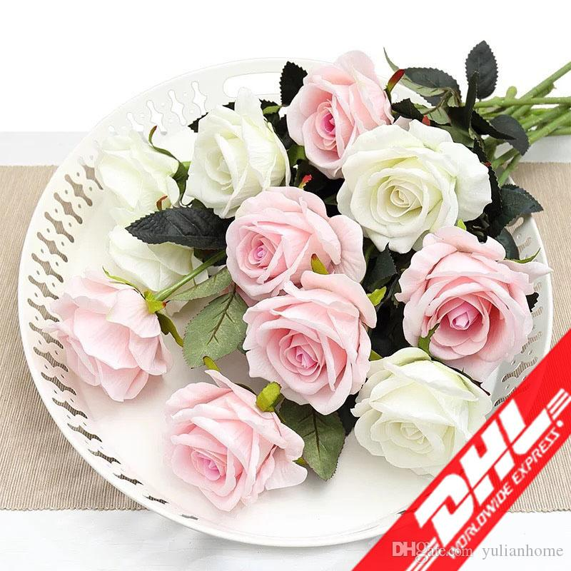 Artificial Fresh Rose Flowers Real Touch Rose Flower Home Decorations For Wedding Party Or Birthday Wedding Decoration Flower Other Mobility & Disability Medical & Mobility