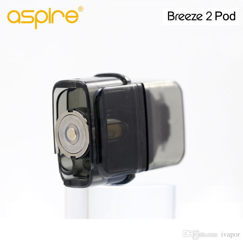 Più caldo Aspire Brezza 2 pod vuoto Atomizzatore 2 ml con Vape cartucce ecigarette Brezza 2 kit 100% Originale