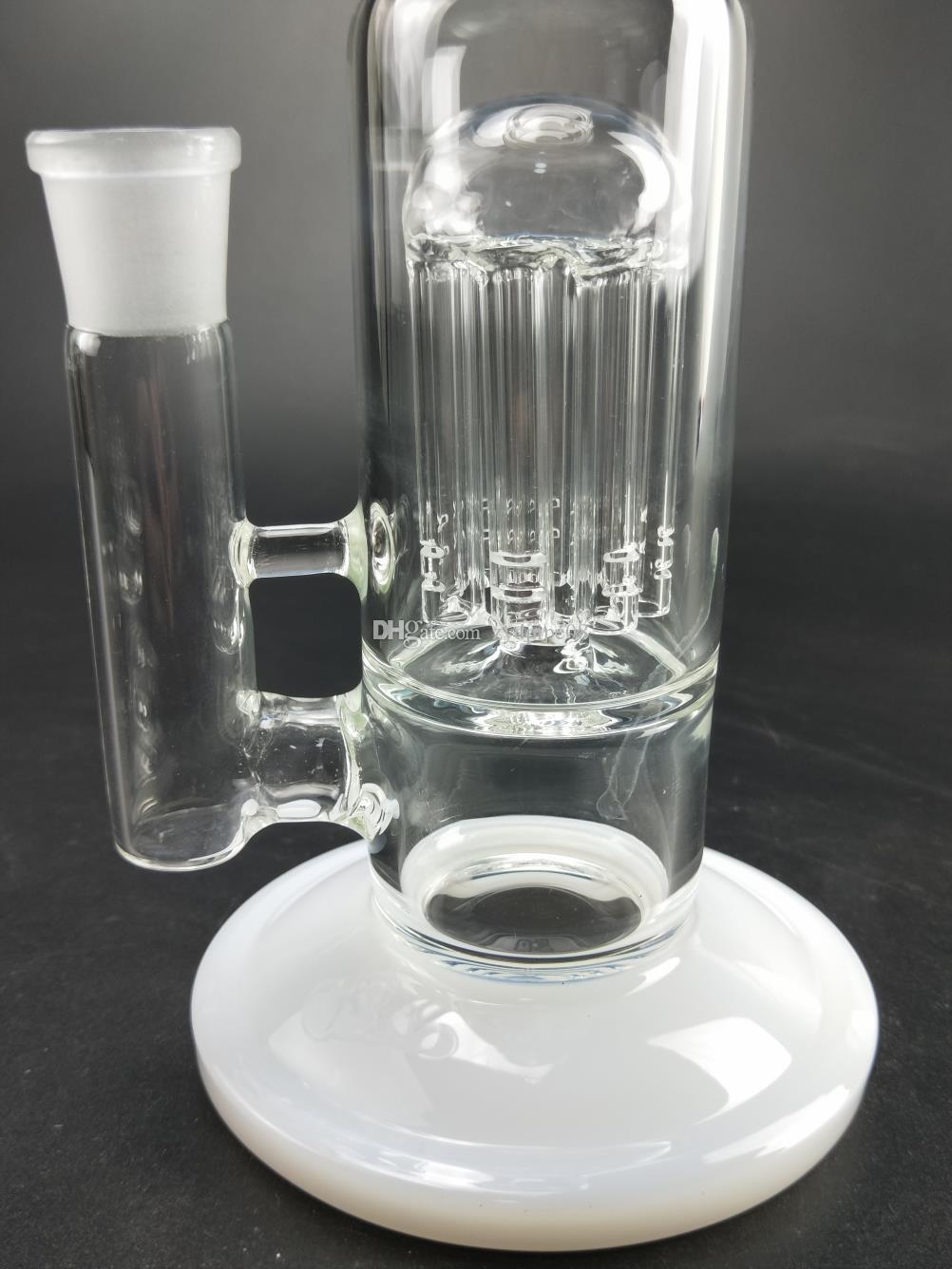 Le plus récent recycleur des plates-formes pétrolières à jet de barboteur en verre Bang avec double percolateur sphérique coudé au coude une pipe à eau ..