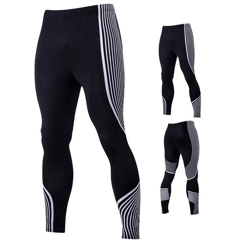 f6099c58ed1 Vertvie Men Running Tights For Fitness Gym High Waist Elastic ...
