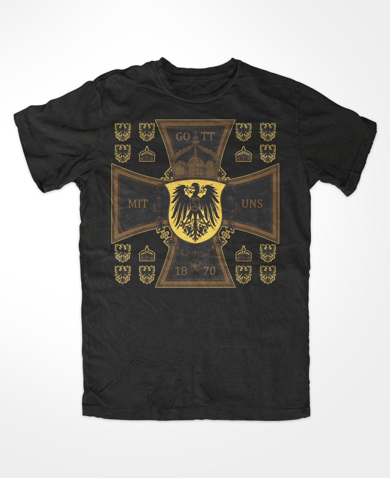 Gott Mit Uns Herren T Shirt , Kreuz,Adler,Preussen,ProGloriaetPatria,Kaiserreich  Funky T Shirts For Women T Shirt Purchase From Lovetshirts29, ... 599e22a08c