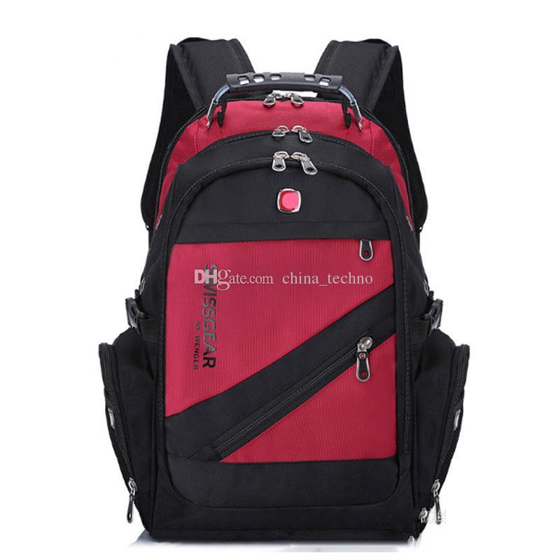 grande vente 26634 60085 Sac à dos suisse Randonnée Camping Sacs à dos Voyage Ordinateur Portable  Sac Scolaire Sport Gym Extérieur Duffel Bag DHL Expédition