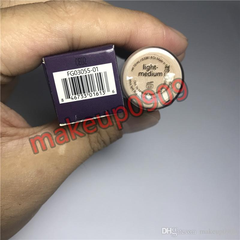 Lowest price top quality tar0e Shape Tape Concealer contour Fair Light Light medium Medium Light sand 10ml liquid foundation DHL