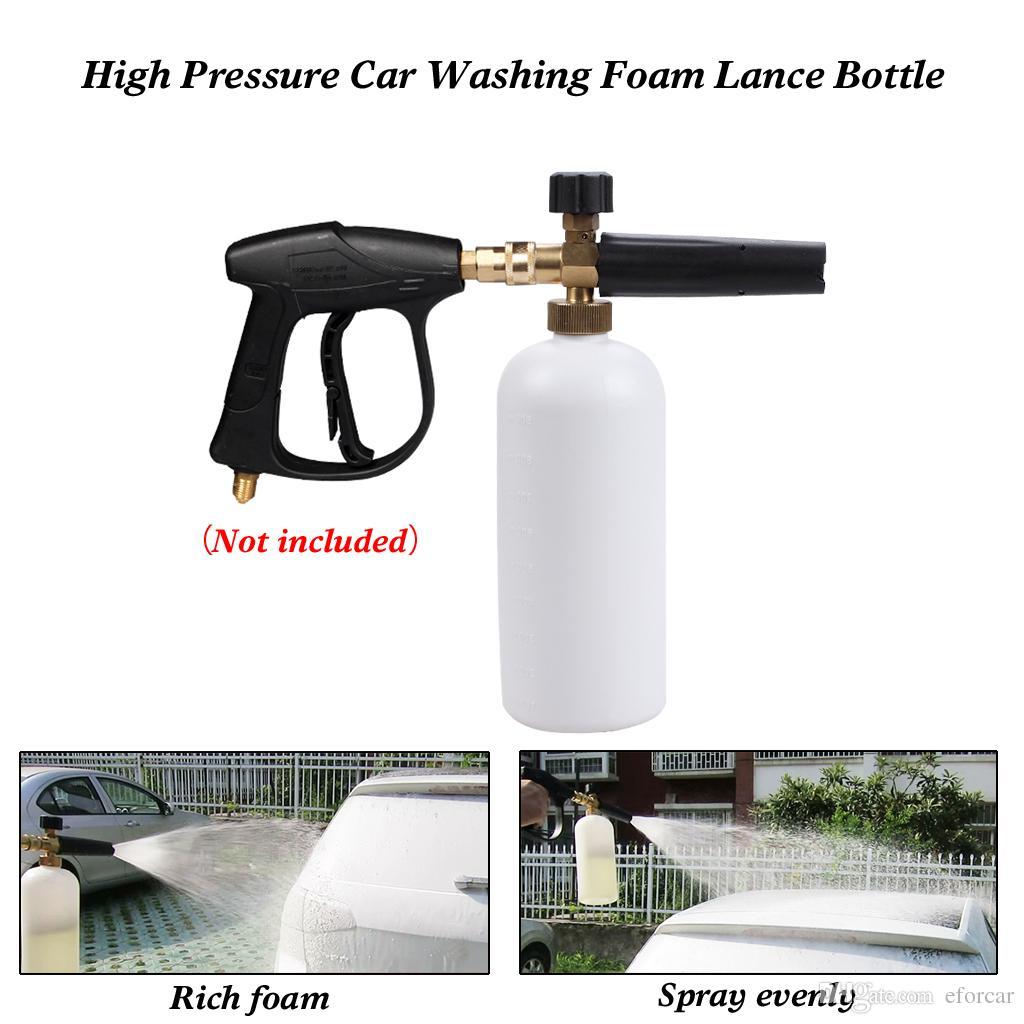 Haute pression voiture neige mousse Lance nettoyants voiture laveuse lavage outils de nettoyage mousse pistolet à eau