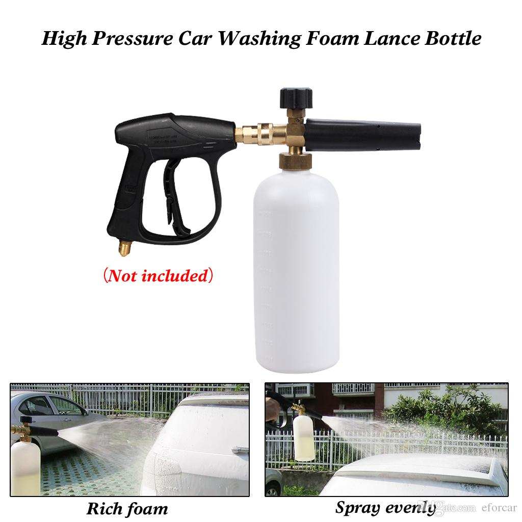 Lâmina de Espuma de Neve de alta Pressão Carro Água Limpadores Lavador de Carro Lavar Ferramentas de Limpeza Espuma Pistola de Água
