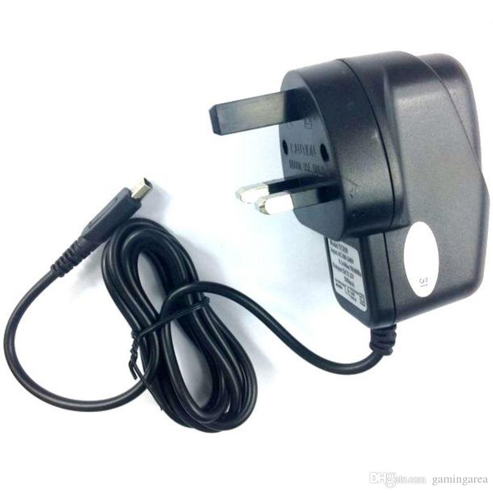 Reino Unido para la fuente de alimentación del cable del cargador de pared de la casa del Reino Unido para 2DS 3DS NUEVO 3DS XL LL NDSI LL XL ADAPTADOR DE CA