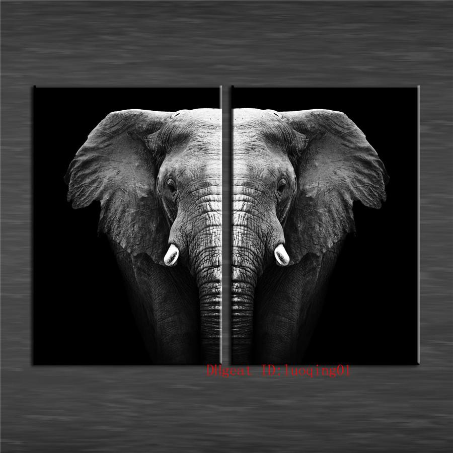 2019 The Elephant Canvas Pieces Home Decor HD Printed Modern Art Painting On Unframed Framed From Luoqing01 1282