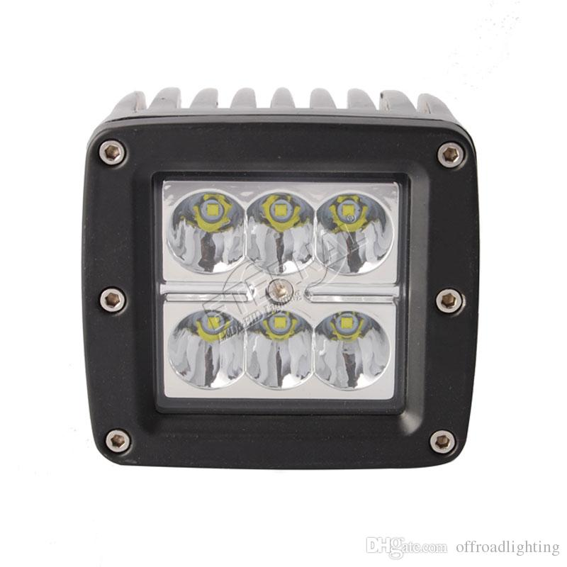 """20PCS Amber Protective Cover for LED Work Light Bar Fog Lamp Off-Road 4/"""" 18W"""