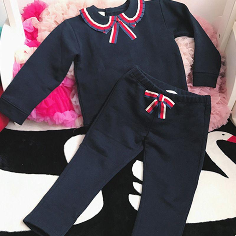 62aa0818025fd Acheter Enfants De Mode 2017 Automne En Bas Âge Filles Vêtements Set  Vetement Enfant Fille Top Qualité Boutique Enfants Vêtements Ensembles De   26.47 Du ...