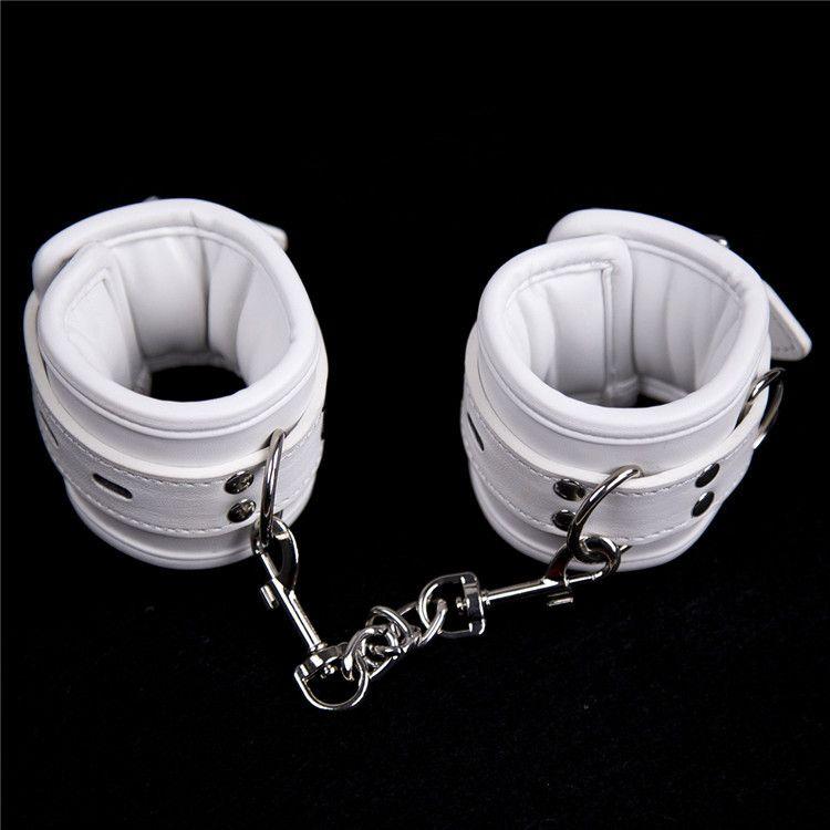 Adult Games Handcuffs Anklecuffs,Soft Padded Wrist Cuffs Foot Cuffs,Sex Bondage Restraints BDSM Sex Toys For Couple