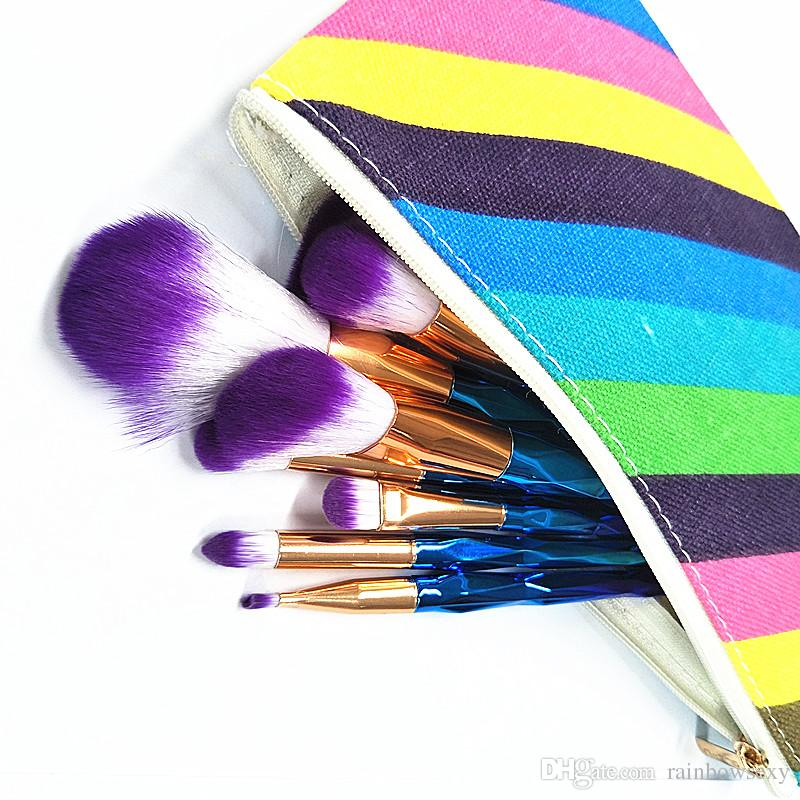 Factory Price Professional Makeup brush Cosmetic Facial Make-up Brush Tools face and eyes Makeup Brushes Set Kit With Retail Box
