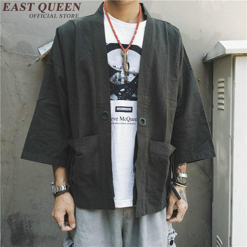 5e9adfbde ropa japonesa para hombre tradicional mens yukata japón kimono hombres  KK1011 Y
