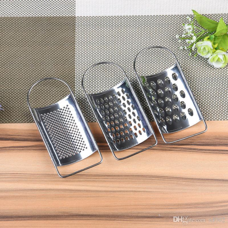 Vegetable Fruit Grater Originality Small Size Peeler Stainless Steel Shredded Ginger Daily Expenses Kitchen Tools Factory Direct 0 9hw V