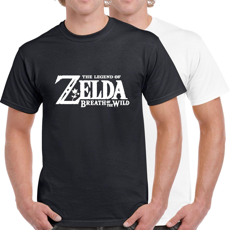 32d836cd7dd4 Acheter La Légende De Zelda Souffle Du Logo Sauvage 100% Coton T Shirt  Drôle Livraison Gratuite Unisexe Casual Tee Cadeau De  10.28 Du Tshirtsinc