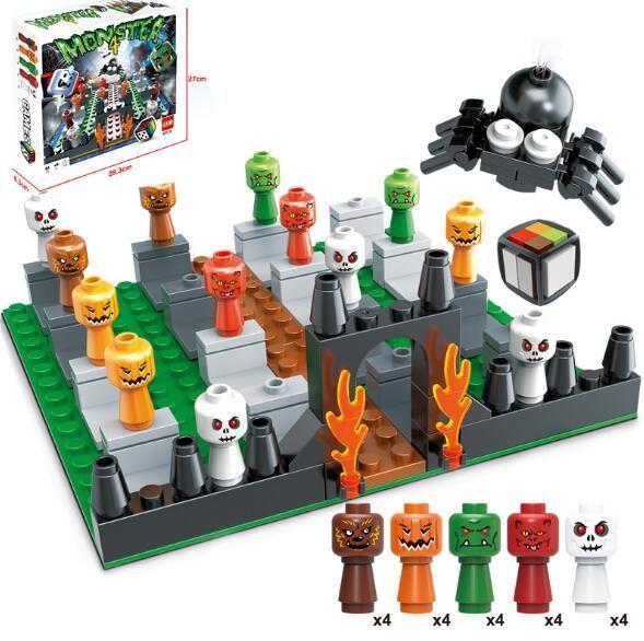 Lego Halloween Sets 2019.Jlb3d23 Halloween Festival Desktop Game Toys Particles Building Blocks Assembled Kids Children S Educational Toys Free Shipping